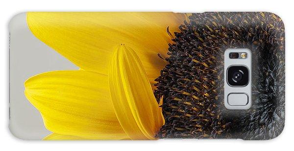 Yellow Sunflower Photograph Galaxy Case