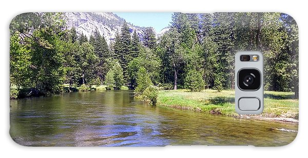 Yosemite Lazy River Galaxy Case