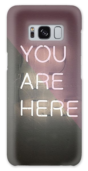 You Are Here Galaxy Case