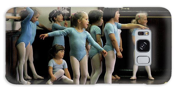 Young Ballet Dancers  Galaxy Case