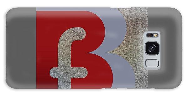 Your Name - B F Or F B Monogram Galaxy Case