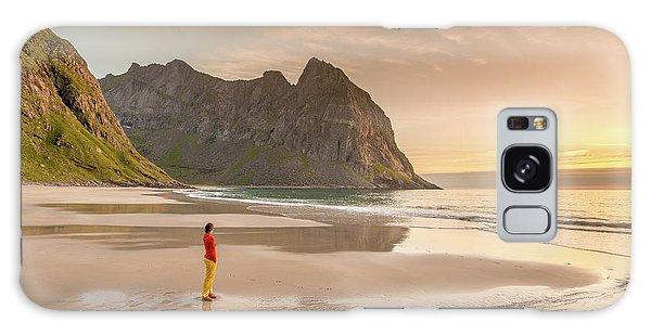 Your Own Beach Galaxy Case by Alex Conu