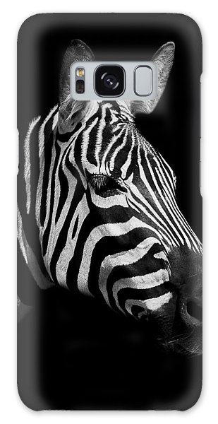 Zebra Galaxy S8 Case - Zebra by Paul Neville