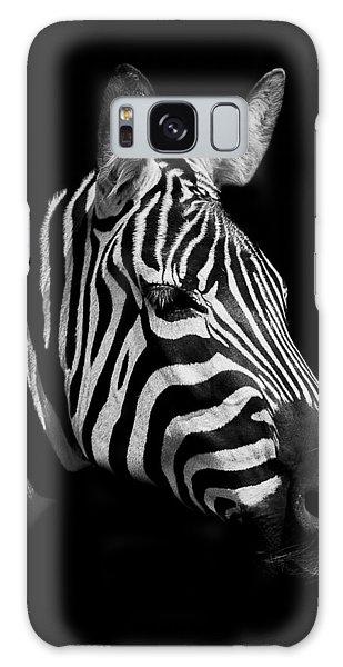 Equine Galaxy Case - Zebra by Paul Neville