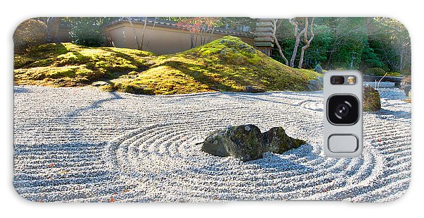 Zen Garden At A Sunny Morning Galaxy Case