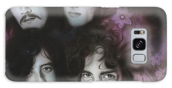 Led Zeppelin - ' Zeppelin ' Galaxy Case by Christian Chapman Art