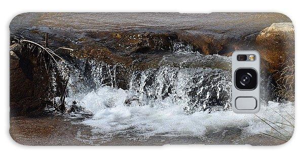 Waterfall Westcliffe Co Galaxy Case