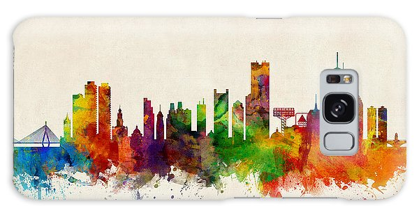 Boston Massachusetts Skyline Galaxy Case