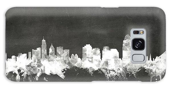 Board Galaxy Case - Cincinnati Ohio Skyline by Michael Tompsett