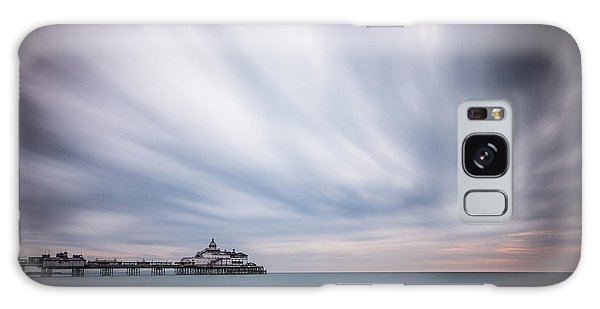 10 Minute Exposure Of Eastbourne Pier Galaxy Case