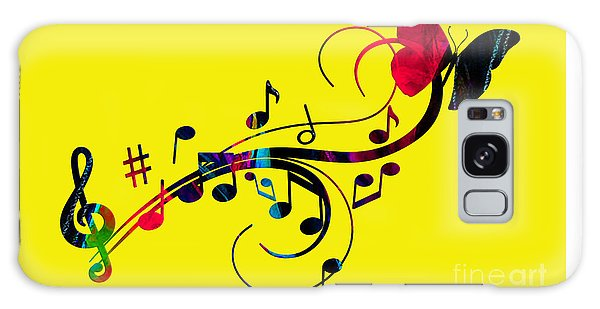 Music Flows Collection Galaxy Case