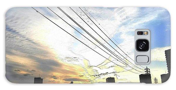 Galaxy Case - Sunset by Kumiko Izumi