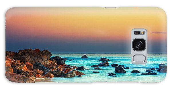 Beautiful Sunrise Galaxy Case - Sunset by MotHaiBaPhoto Prints