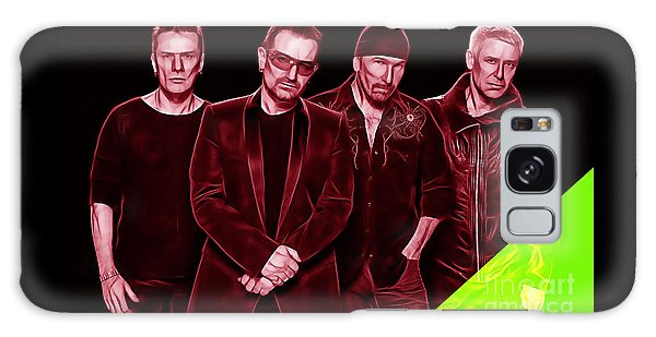 U2 Collection Galaxy Case by Marvin Blaine