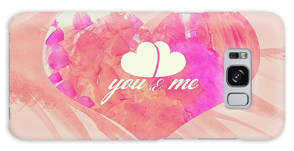 10183 You And Me Galaxy Case