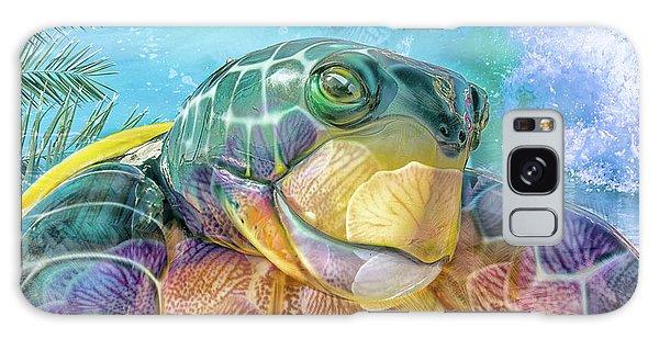 10730 Mr Tortoise Galaxy Case by Pamela Williams