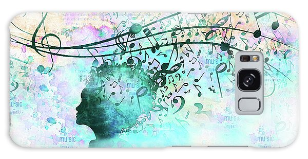 10846 Melodic Dreams Galaxy Case by Pamela Williams