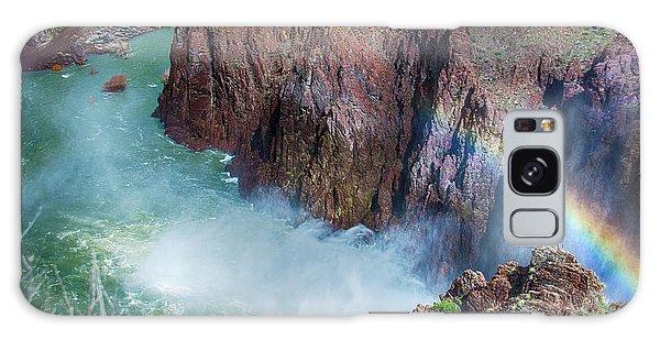 10883 Rainbow Over Owyhee Galaxy Case by Pamela Williams
