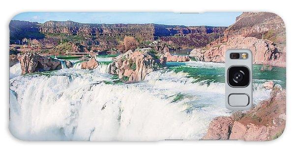 10917 Shoshone Falls Galaxy Case by Pamela Williams