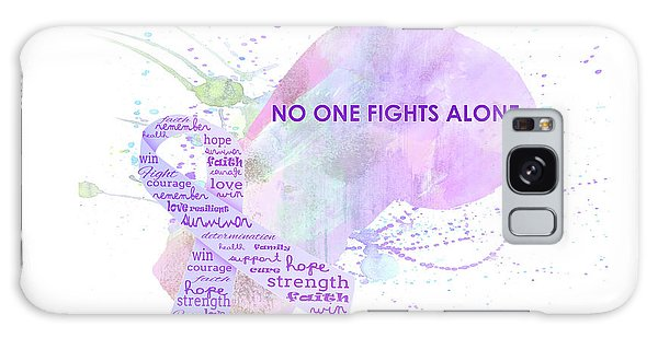 10969 No One Fights Alone Galaxy Case
