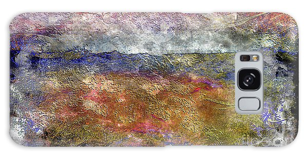10c Abstract Expressionism Digital Painting Galaxy Case