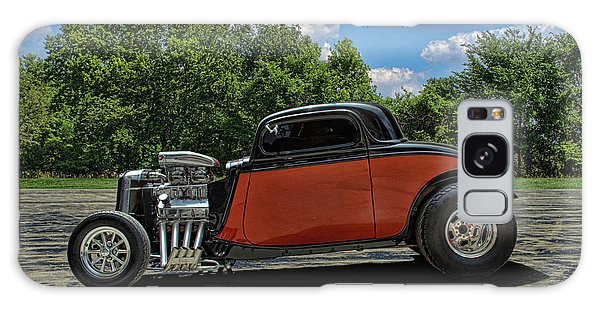 1934 Ford Coupe Hot Rod Galaxy Case by Tim McCullough
