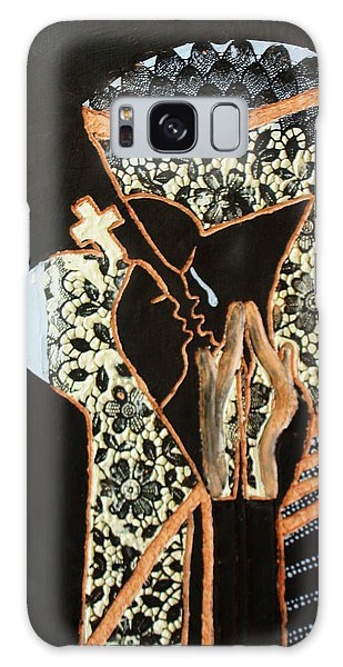 Mama Africa Galaxy Case - Madonna And Child by Gloria Ssali