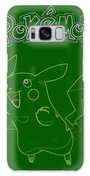Pokemon - Pikachu Galaxy Case by Kyle West