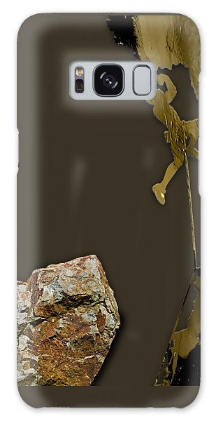 Rock Climber Collection Galaxy Case by Marvin Blaine