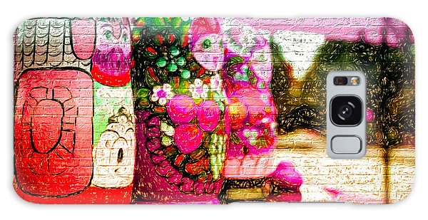 Russian Matrushka Dolls Wall Art Galaxy Case