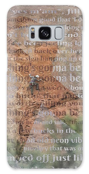 11059 Everything Will Be Alright Galaxy Case