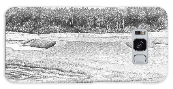 11th Hole - Trump National Golf Club Galaxy Case by Lawrence Tripoli