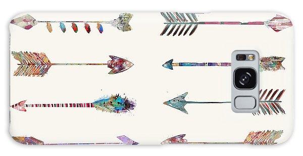 Native American Galaxy Case - 12 Arrows by Bri Buckley