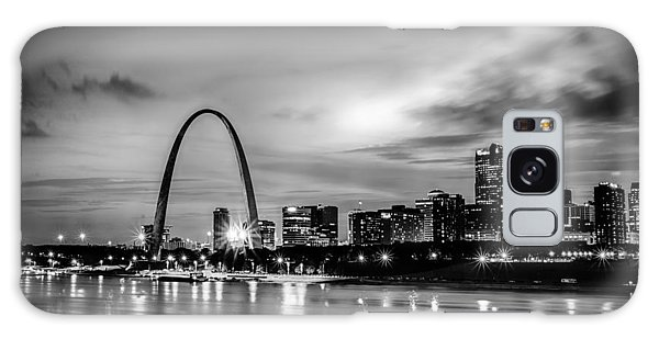 City Of St. Louis Skyline. Image Of St. Louis Downtown With Gate Galaxy Case