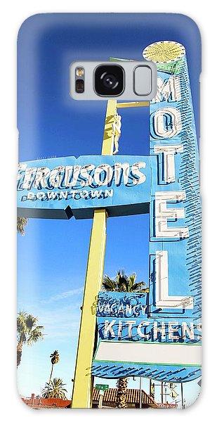 Remnants Of Vintage Vegas Galaxy Case