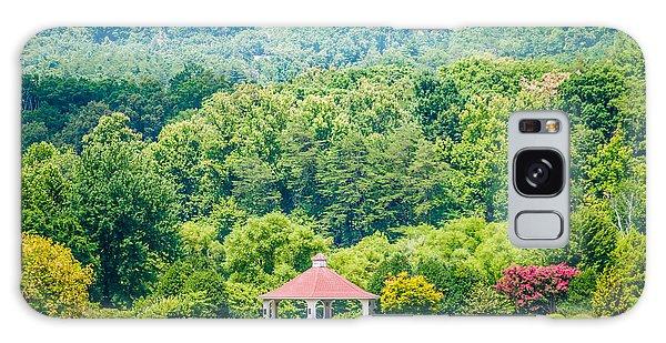 Scenery Around Lake Lure North Carolina Galaxy Case