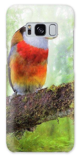 Toucan Barbet Galaxy Case