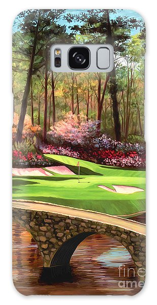 12th Hole At Augusta Ver Galaxy Case by Tim Gilliland