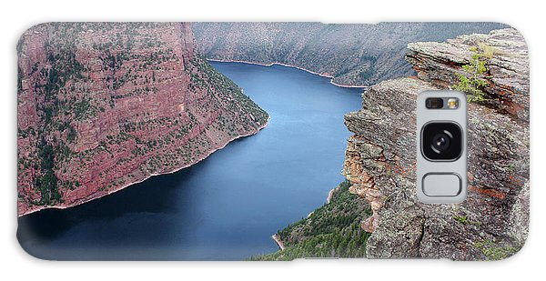 Flaming Gorge National Park Galaxy Case by Ellen Tully
