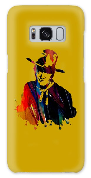 John Wayne Collection Galaxy Case by Marvin Blaine