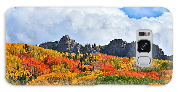 Kebler Pass Fall Colors Galaxy Case