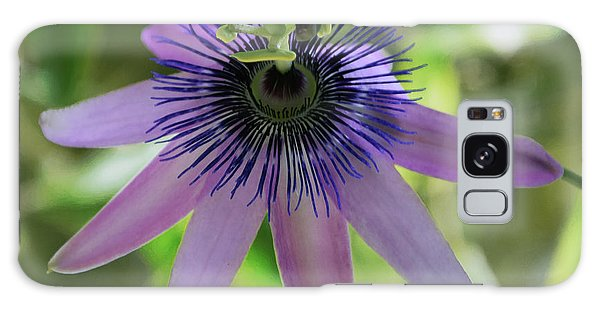 Purple Passiflora Galaxy Case by Elvira Ladocki