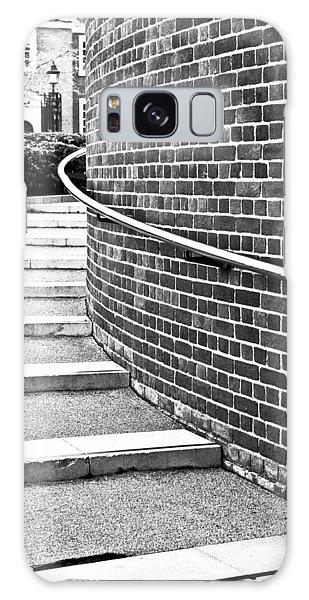 Handrail Galaxy Case - Stone Steps by Tom Gowanlock