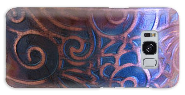 1341 Paisley Cuff Galaxy Case by Dianne Brooks