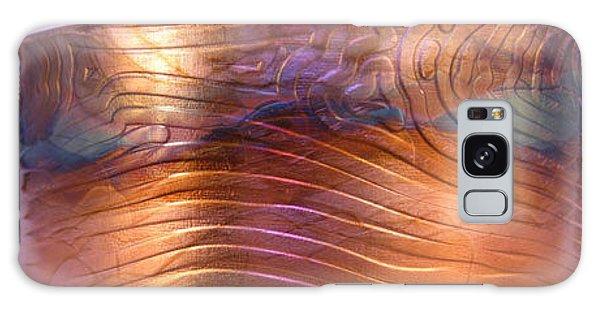 1343 Woodgrain Cuff Bracelet Galaxy Case