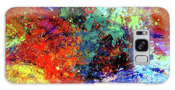 Abstract Composition Galaxy Case by Samiran Sarkar
