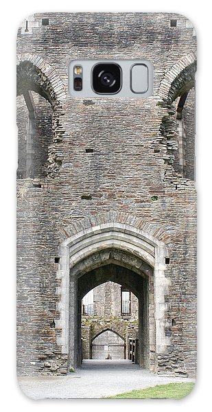 Caerphilly Castle Galaxy Case