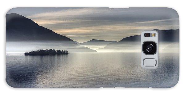 Islands In The Sky Galaxy Case - Lake Maggiore by Joana Kruse