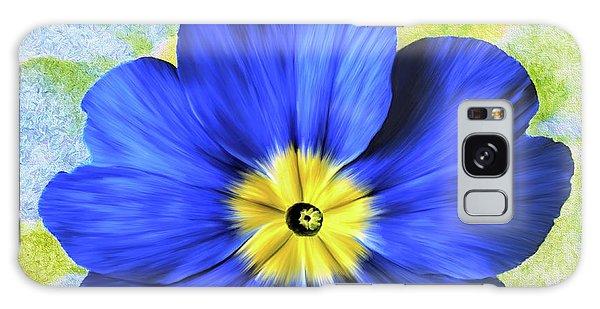 Blue Primrose Galaxy Case