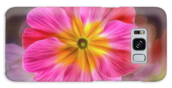 Pink Primrose #1 Galaxy Case